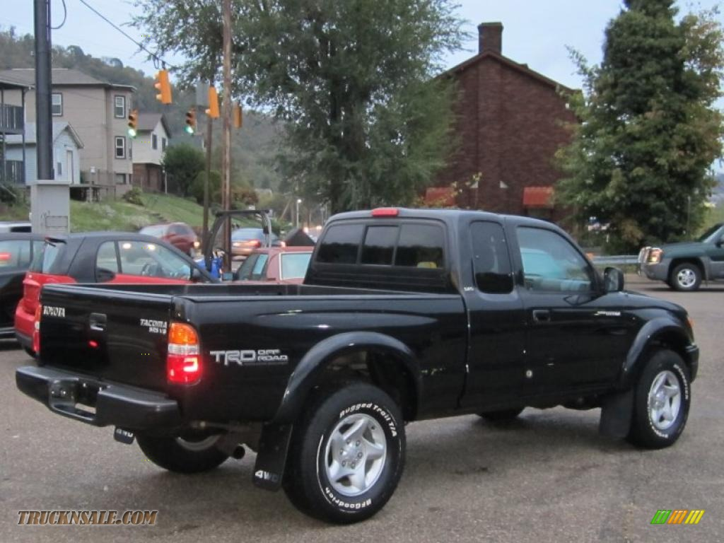 2003 Toyota Tacoma V6 Trd Xtracab 4x4 In Black Sand Pearl Photo 4 221841 Truck N Sale