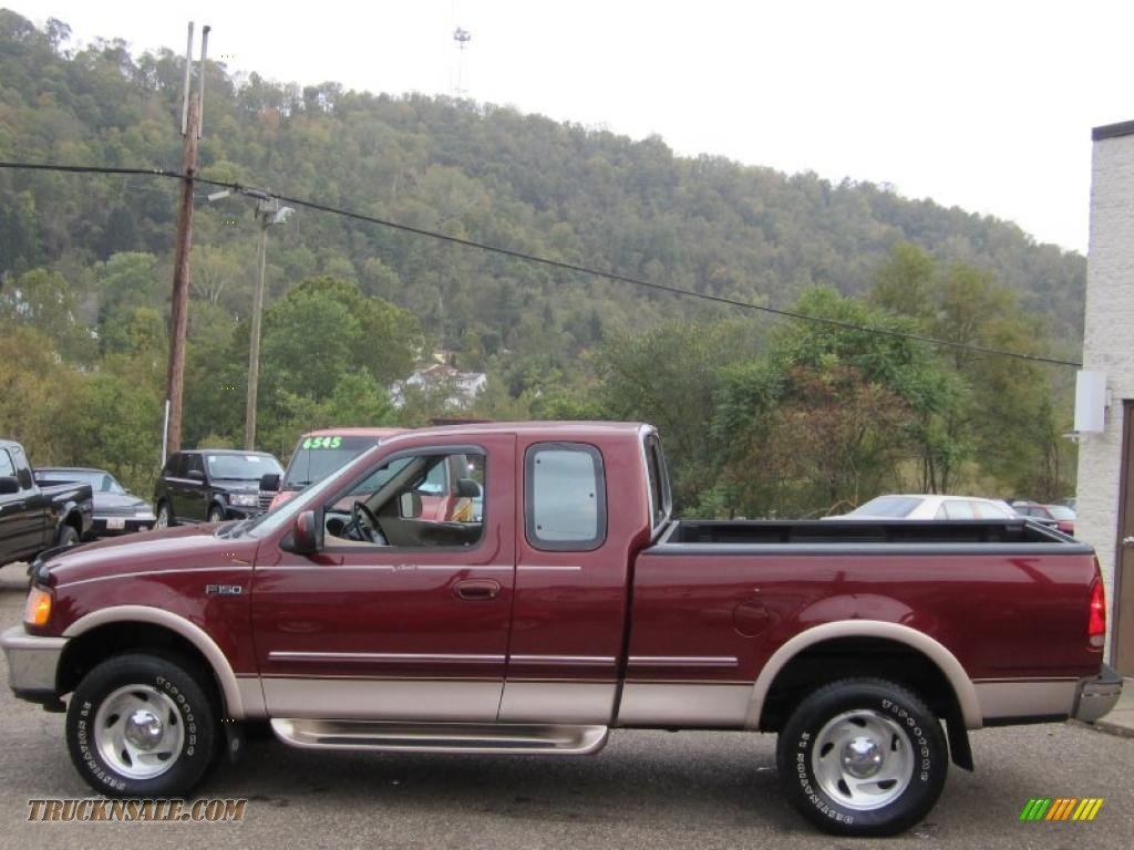 1997 ford f150 xlt extended cab 4x4 in dark toreador red metallic photo 9 b82807 truck n 39 sale. Black Bedroom Furniture Sets. Home Design Ideas