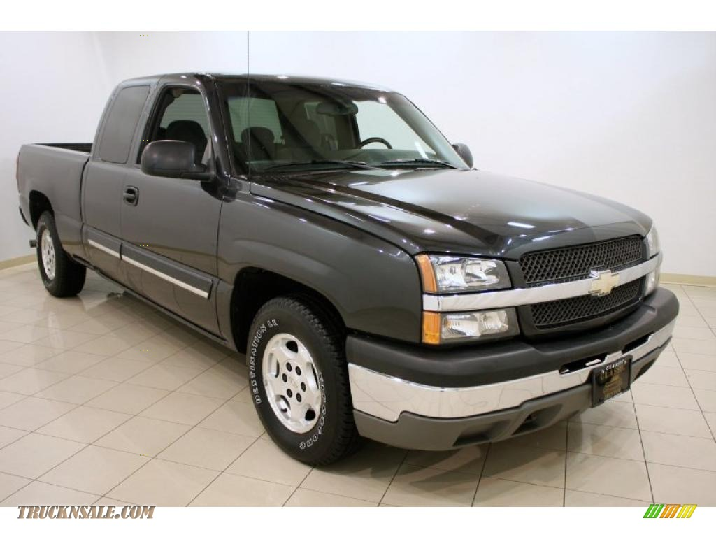 2003 Chevrolet Silverado 1500 LS Extended Cab in Dark Gray ...