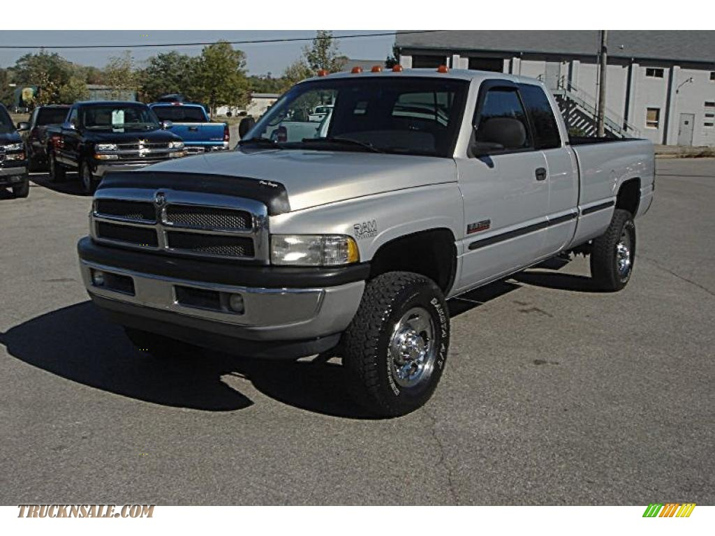 1999 Dodge Ram 2500 Slt Extended Cab 4x4 In Bright Silver Metallic 573112 Truck N 39 Sale