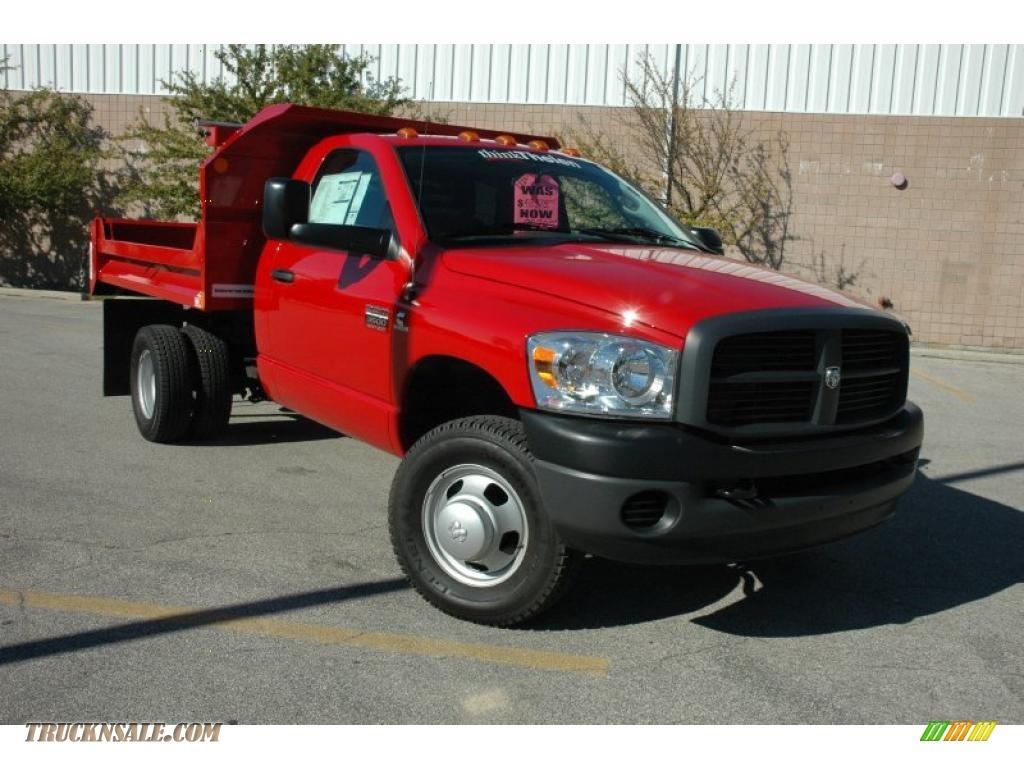 Ram Dump Truck For Sale >> 2009 Dodge Ram 3500 St Regular Cab 4x4 Chassis Dump Truck In Flame