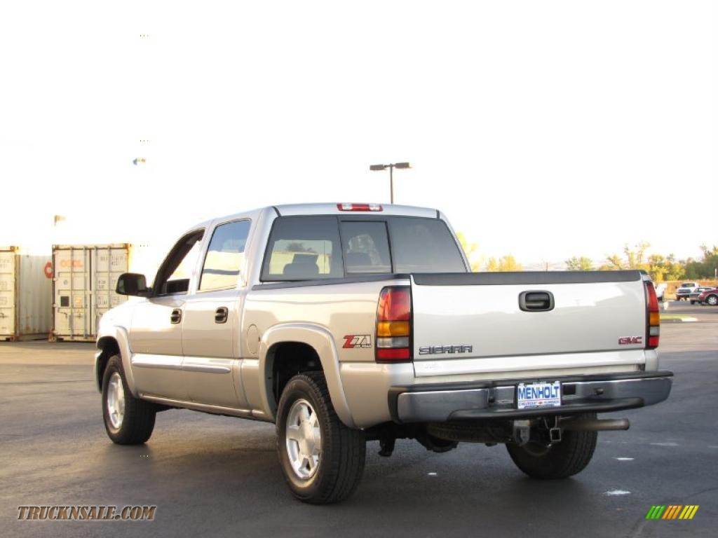 2006 Gmc Sierra 1500 Slt Z71 Crew Cab 4x4 In Silver Birch Metallic Photo 3 167022 Truck N Sale