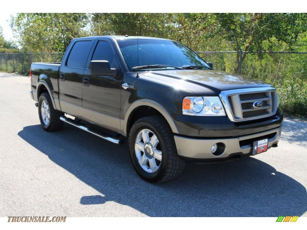 2006 ford f150 king ranch supercrew 4x4 in dark stone metallic photo 3 d38957 truck n 39 sale. Black Bedroom Furniture Sets. Home Design Ideas