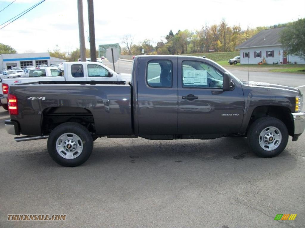 2011 Chevrolet Silverado 2500hd Extended Cab 4x4 In Taupe