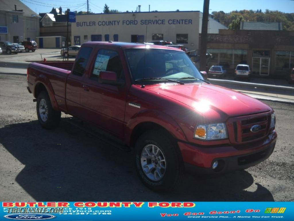2011 ford ranger sport supercab 4x4 in redfire metallic a06558 truck n 39 sale. Black Bedroom Furniture Sets. Home Design Ideas