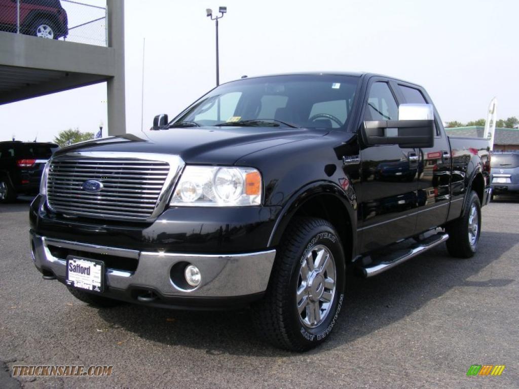 2008 Ford F150 Xlt Supercrew 4x4 In Black B52983 Truck