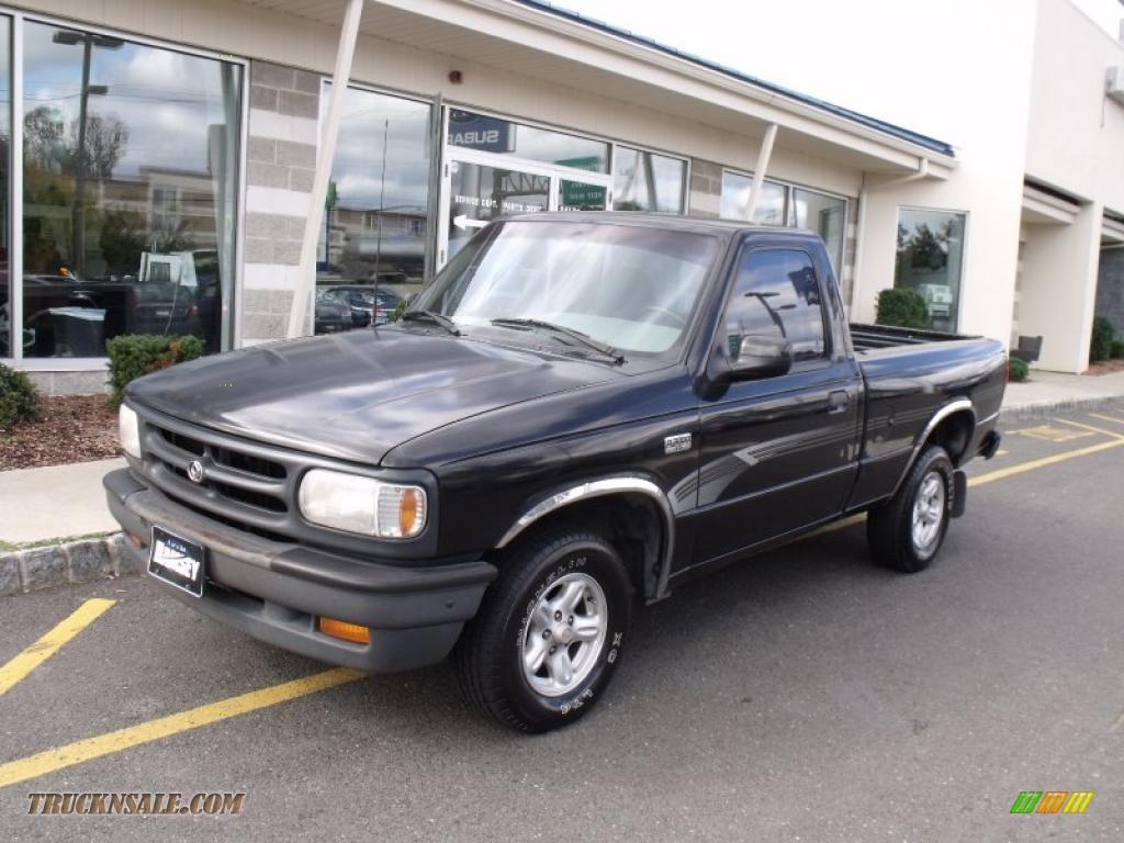 1994 b series truck b3000 se regular cab brilliant black gray photo