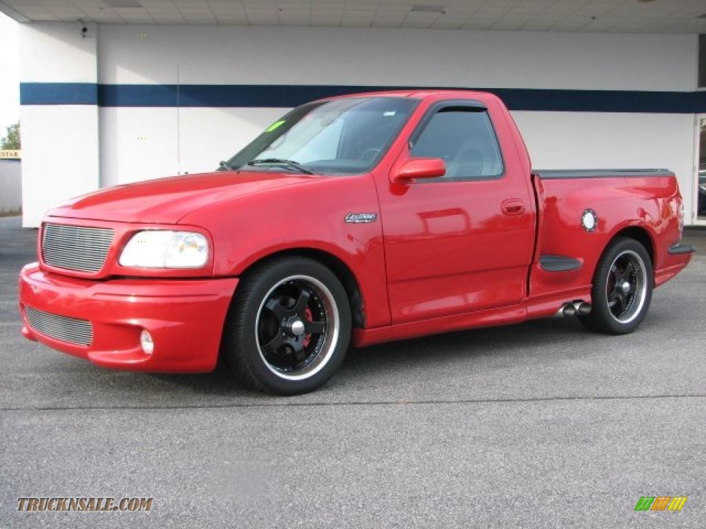 1999 ford f150 svt lightning in bright red photo 3 a84471 truck n 39 sale. Black Bedroom Furniture Sets. Home Design Ideas