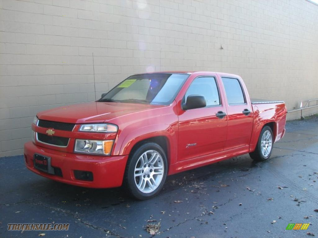2005 chevrolet colorado xtreme crew cab in victory red photo 2 198437 truck n 39 sale. Black Bedroom Furniture Sets. Home Design Ideas