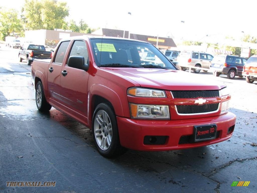 2005 chevrolet colorado xtreme crew cab in victory red photo 4 198437 truck n 39 sale. Black Bedroom Furniture Sets. Home Design Ideas