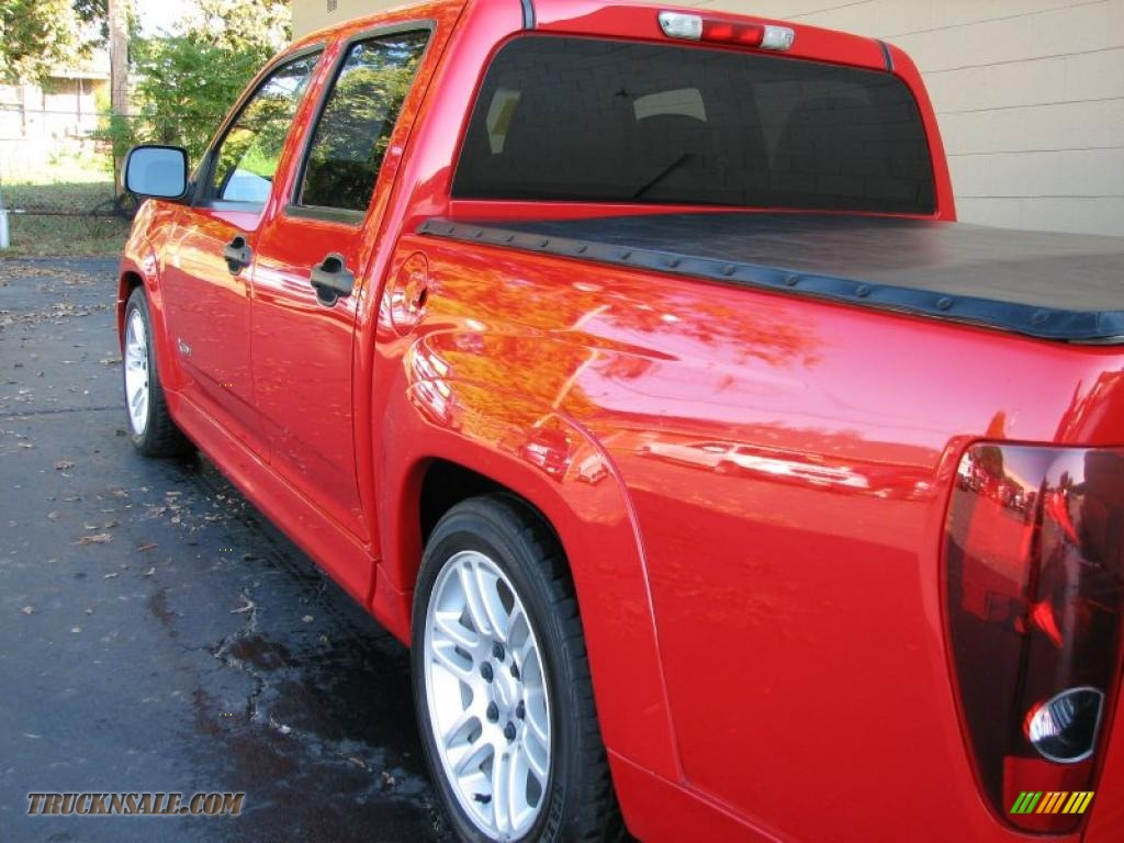 2005 chevrolet colorado xtreme crew cab in victory red photo 13 198437 truck n 39 sale. Black Bedroom Furniture Sets. Home Design Ideas