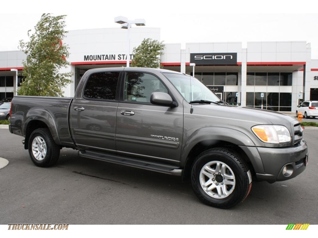 2006 toyota tundra limited double cab 4x4 in phantom gray pearl 510414 truck n 39 sale. Black Bedroom Furniture Sets. Home Design Ideas
