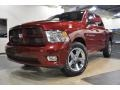 Dodge Ram 1500 Sport Crew Cab 4x4 Deep Cherry Red Crystal Pearl photo #2