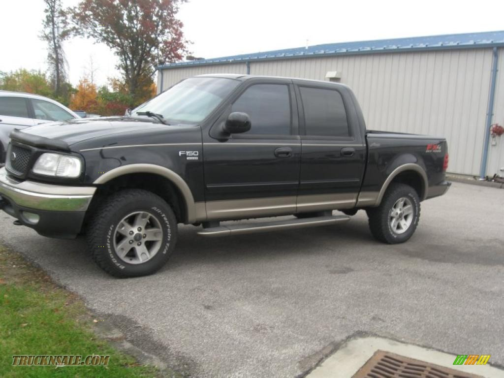 2003 Ford F150 Xlt Supercrew 4x4 In Black Photo 8