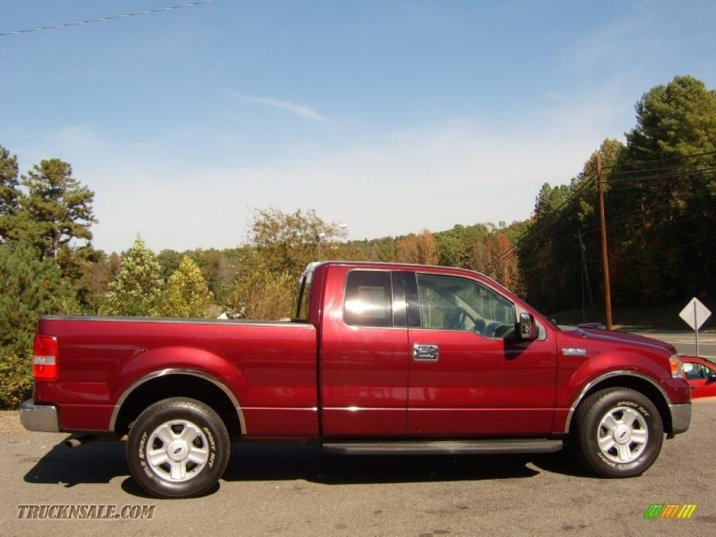 2004 Ford F150 XLT SuperCab in Dark Toreador Red Metallic - A97415 ...