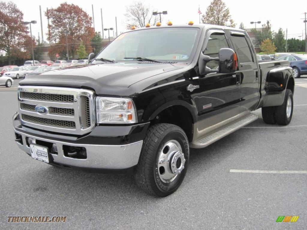 2006 ford f350 super duty king ranch crew cab 4x4 dually in black photo 4 c79646 truck n 39 sale. Black Bedroom Furniture Sets. Home Design Ideas