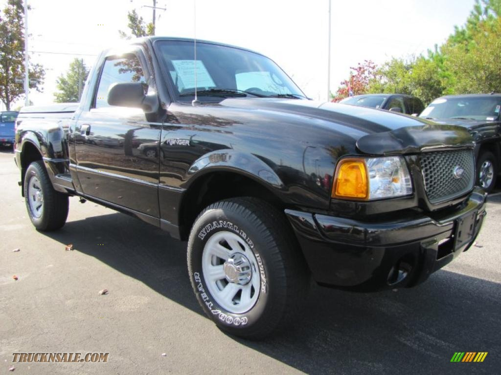 2003 ford ranger edge regular cab in black photo 4. Black Bedroom Furniture Sets. Home Design Ideas