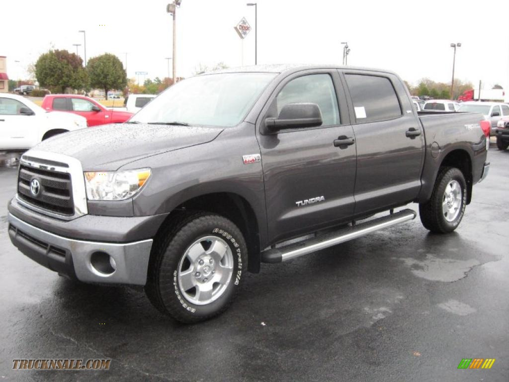 Trd Pro Tundra >> 2011 Toyota Tundra TRD CrewMax 4x4 in Magnetic Gray
