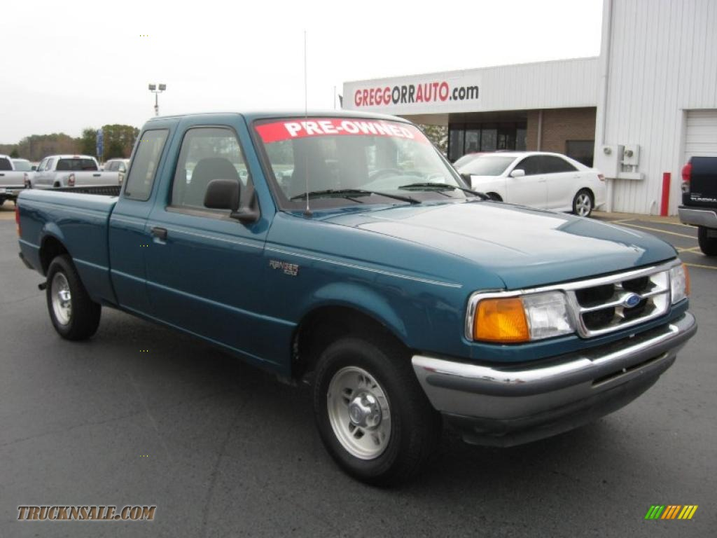 1997 Ford Ranger Xl Extended Cab In Cayman Green Metallic