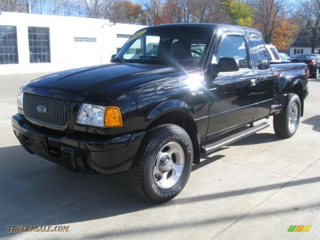 ford ranger edge 2001 dark 4x4 supercab clearcoat graphite body truck sohc dealerrevs transmission v6 engine