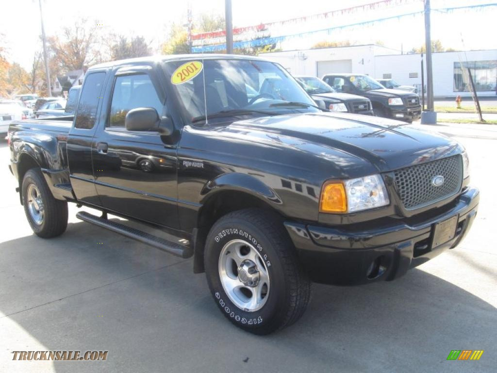 2001 ford ranger edge supercab 4x4 in black clearcoat photo 3 a14162 truck n 39 sale. Black Bedroom Furniture Sets. Home Design Ideas
