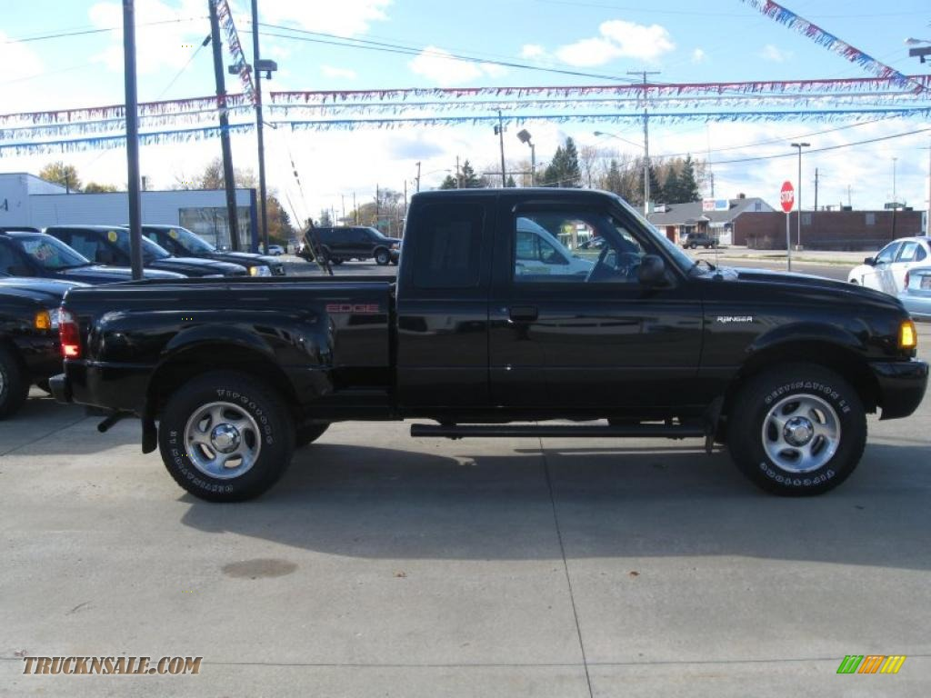 2001 ford ranger edge supercab 4x4 in black clearcoat photo 4 a14162 truck n 39 sale. Black Bedroom Furniture Sets. Home Design Ideas