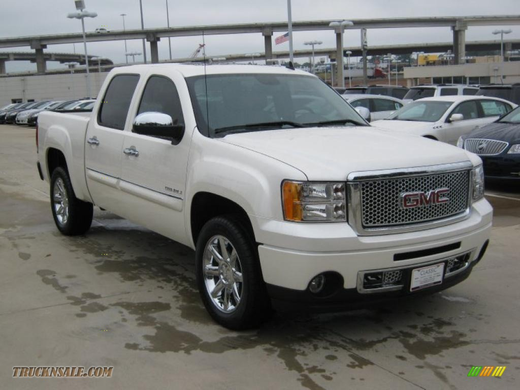2014 Gmc Sierra Ld Denali Pickup Truck In White Diamond Tricoat