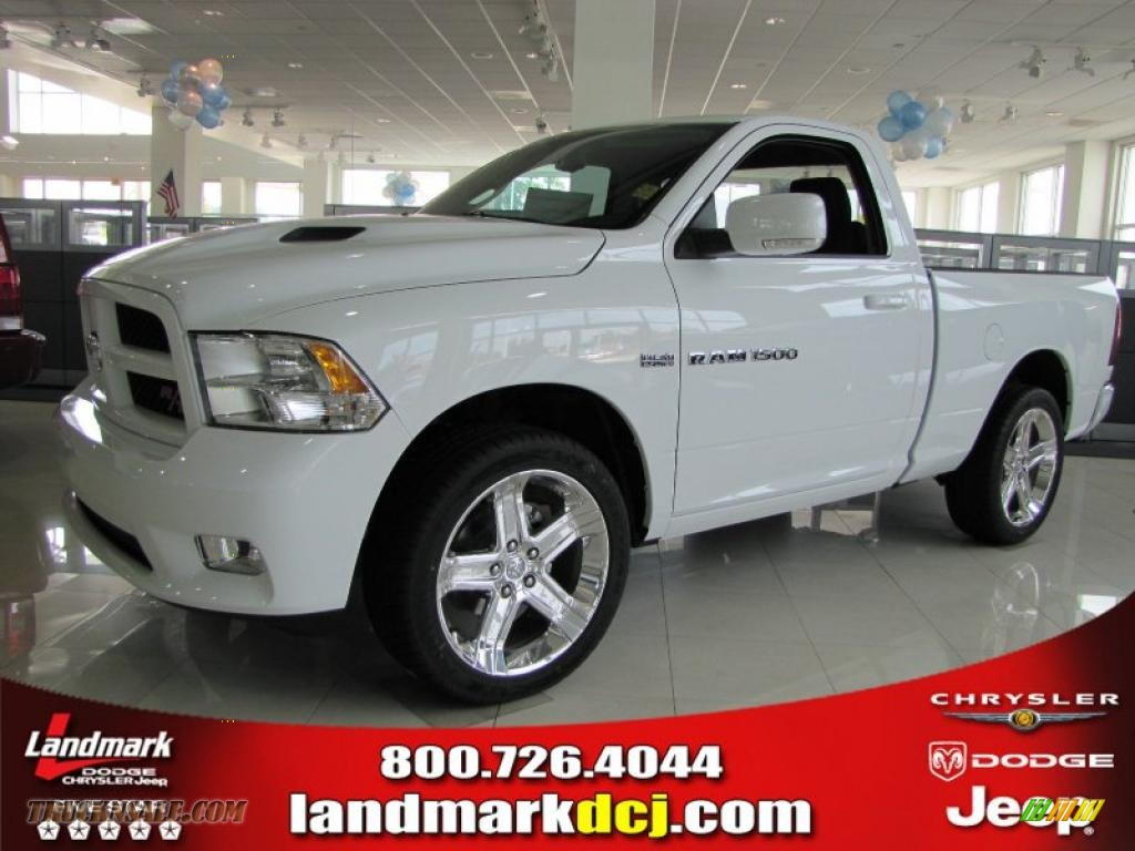 2011 dodge ram 1500 sport r t regular cab in bright white 532713 truck n 39 sale. Black Bedroom Furniture Sets. Home Design Ideas