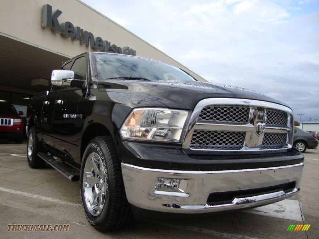 Ron Lewis Chrysler Dodge Jeep Ram Pleasant Hills >> 2011 Dodge Ram 1500 Laramie Quad Cab 4x4 in Brilliant Black Crystal Pearl - 559288   Truck N' Sale