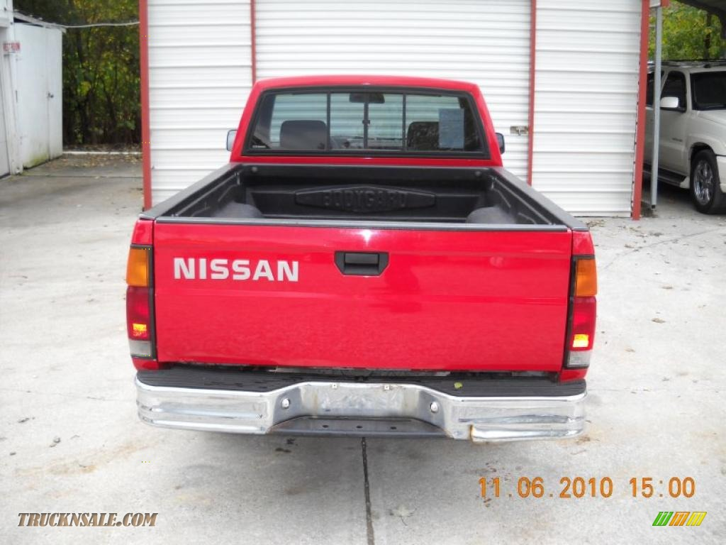 1991 nissan hardbody truck regular cab in aztec red photo. Black Bedroom Furniture Sets. Home Design Ideas