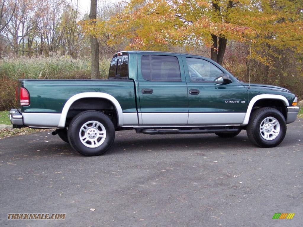on 2001 Dodge Dakota Crew Cab 4x4 V8