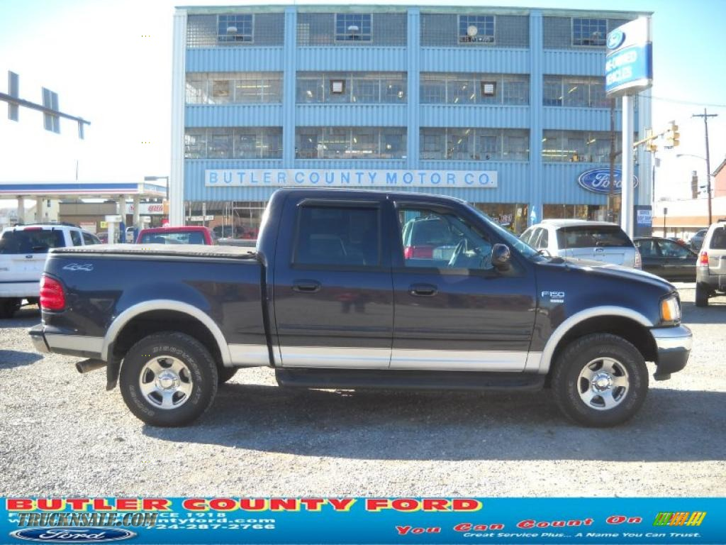 2001 ford f150 xlt supercrew 4x4 in deep wedgewood blue metallic. Cars Review. Best American Auto & Cars Review