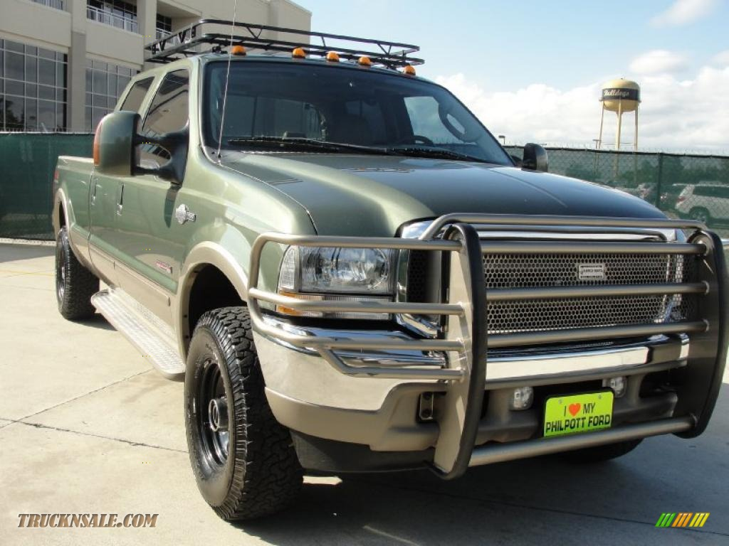 2004 Ford F250 Super Duty King Ranch Crew Cab 4x4 in Estate Green