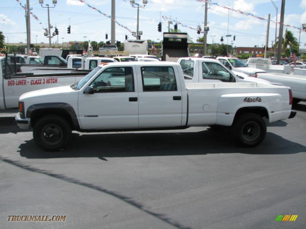 2000 4x4 Crew Cab Chevy Or Gmc 6 5 Diesel 3500 Dually For