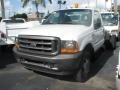 Ford F550 Super Duty XL Regular Cab Chassis Oxford White photo #2