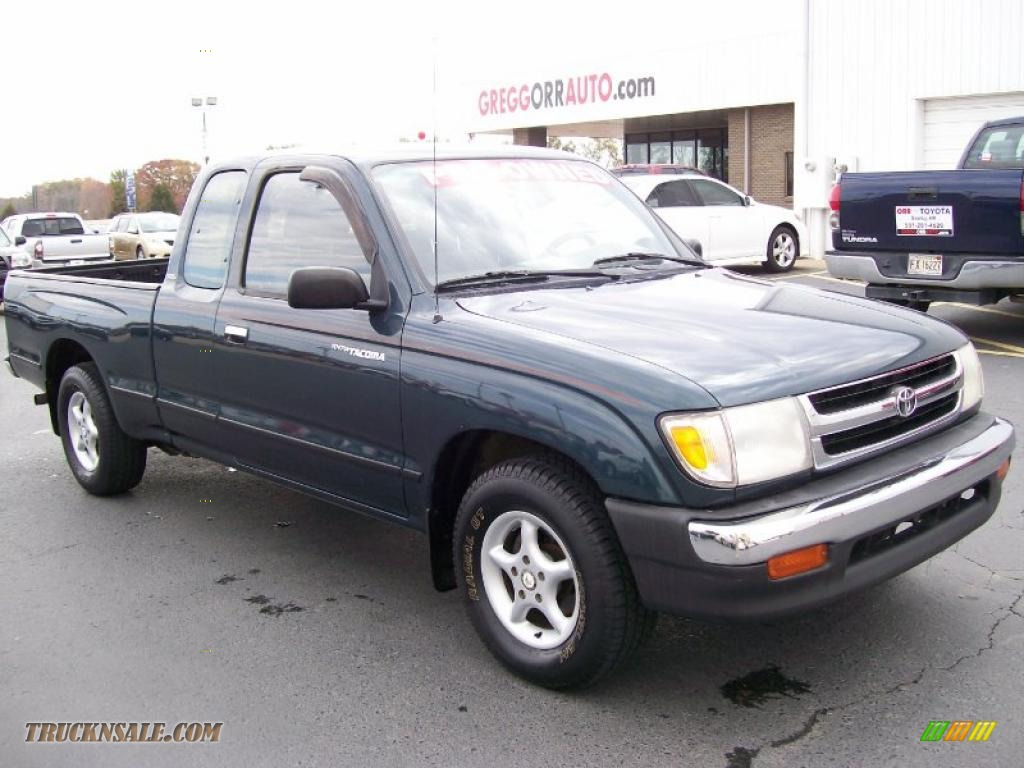 1998 Toyota Tacoma Extended Cab In Evergreen Pearl