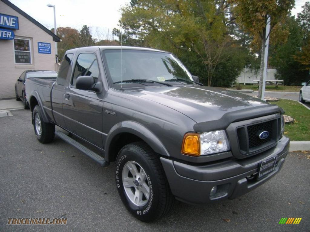 2004 ford ranger edge supercab 4x4 in dark shadow grey metallic photo 7 a15583 truck n 39 sale. Black Bedroom Furniture Sets. Home Design Ideas