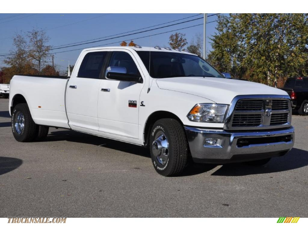 2011 dodge ram 3500 hd laramie crew cab dually in bright white photo 2 535287 truck n 39 sale. Black Bedroom Furniture Sets. Home Design Ideas