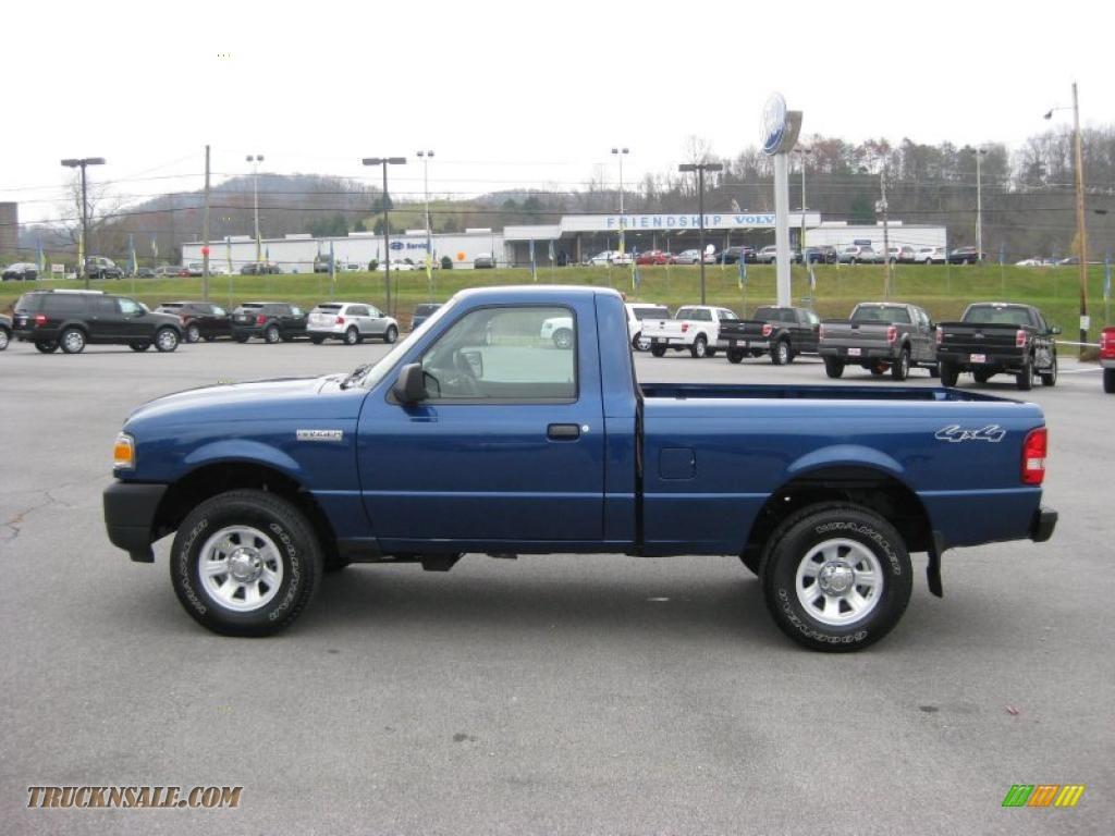 2008 ford ranger xl regular cab 4x4 in vista blue metallic photo 5 a90222 truck n sale