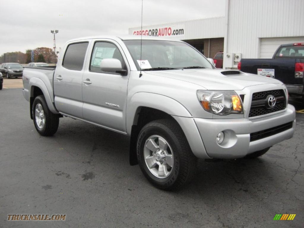 2011 toyota tacoma v6 trd sport double cab 4x4 in silver. Black Bedroom Furniture Sets. Home Design Ideas
