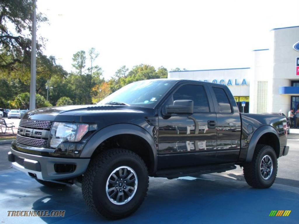 2010 ford f150 svt raptor supercab 4x4 in tuxedo black a58954 truck n 39 sale. Black Bedroom Furniture Sets. Home Design Ideas