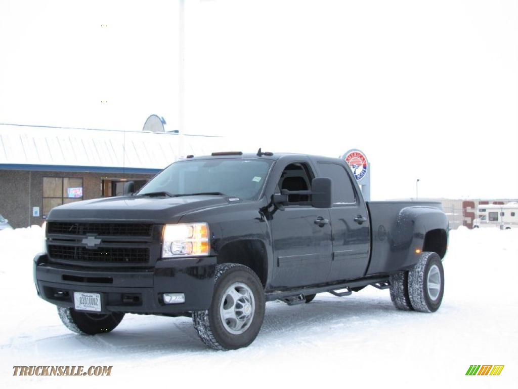 2009 Chevrolet Silverado 3500HD LTZ Crew Cab 4x4 Dually in ...