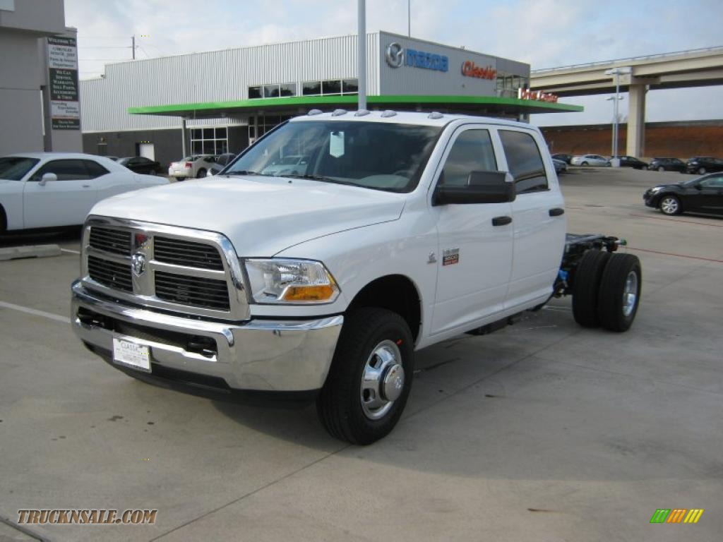 2011 dodge ram 3500 hd slt crew cab 4x4 chassis in bright for Steve white motors inc