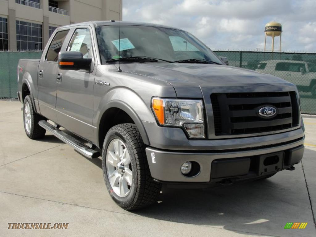 2010 Ford F150 FX4 SuperCrew 4x4 in Sterling Grey Metallic - D93757 | Truck N' Sale