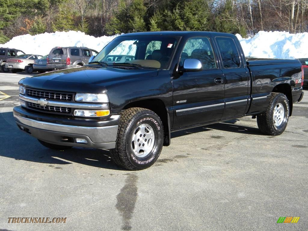 2000 chevrolet silverado 1500 z71 extended cab 4x4 in onyx black photo 2 400337 truck n 39 sale. Black Bedroom Furniture Sets. Home Design Ideas