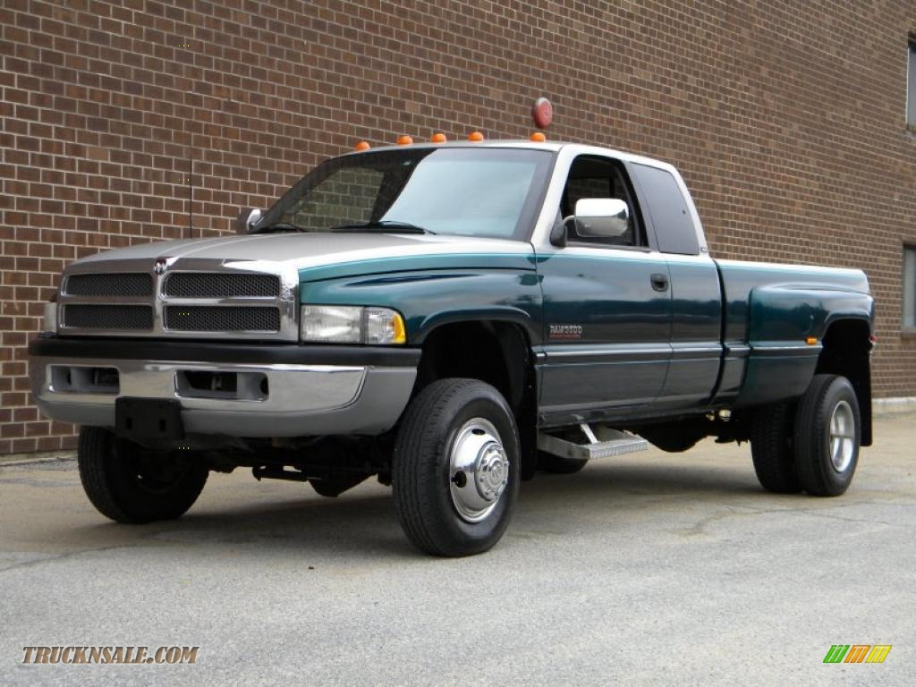1997 dodge ram 3500 laramie extended cab 4x4 dually in. Black Bedroom Furniture Sets. Home Design Ideas