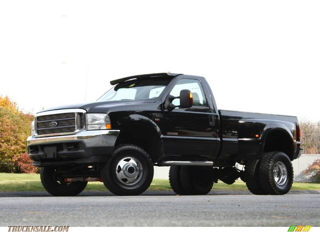 2004 ford f350 super duty xlt regular cab 4x4 dually in black photo 34 a17478 truck n 39 sale. Black Bedroom Furniture Sets. Home Design Ideas
