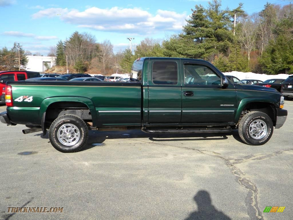 Green Cab Madison >> 2002 Chevrolet Silverado 2500 LS Extended Cab 4x4 in ...