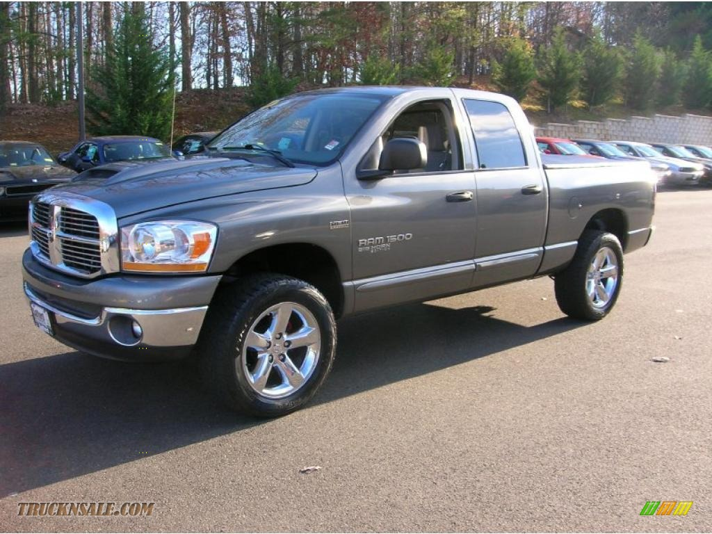 Mineral Gray Metallic / Medium Slate Gray Dodge Ram 1500 Big Horn Edition Quad Cab 4x4