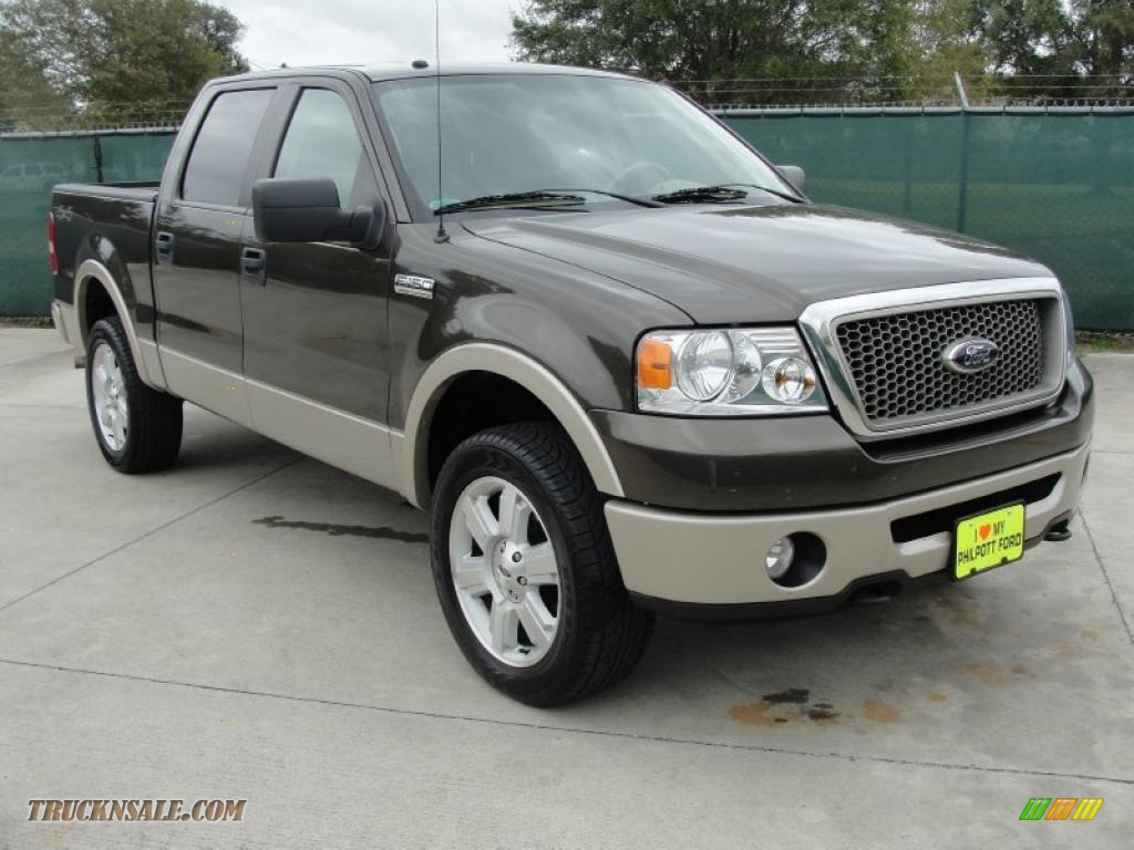 2008 Ford F150 Lariat Supercrew 4x4 In Stone Green